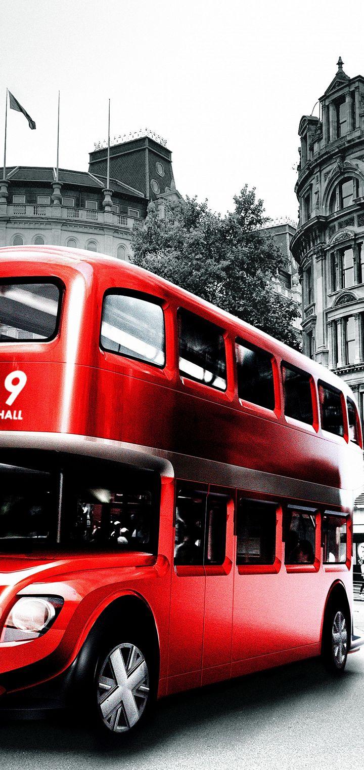 London Bus Wallpaper 720x1520