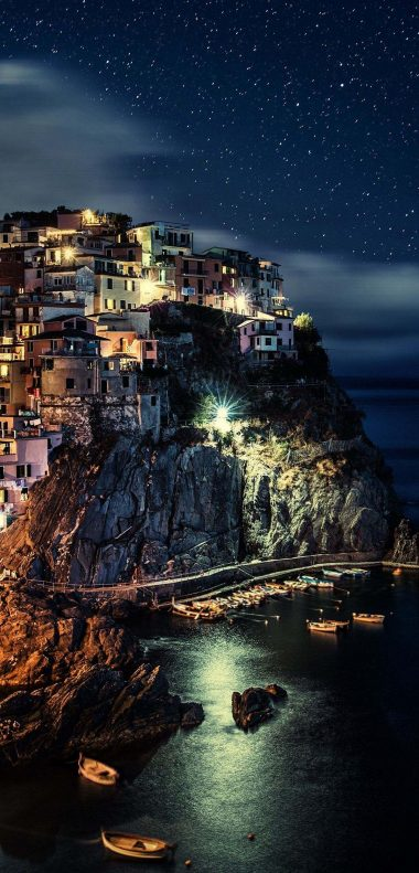Manarola Wallpaper 1080x2248 380x791