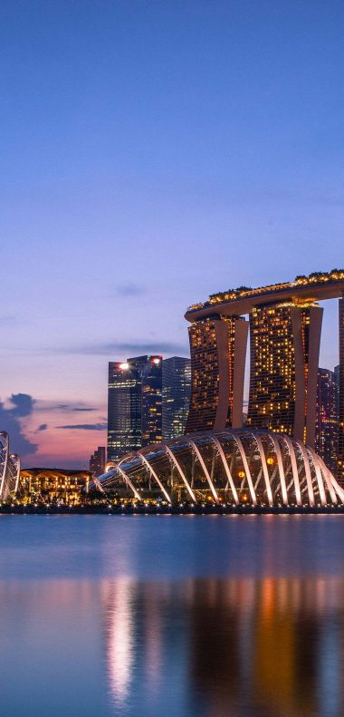 Marina Bay Sands Wallpaper 1080x2248 380x791