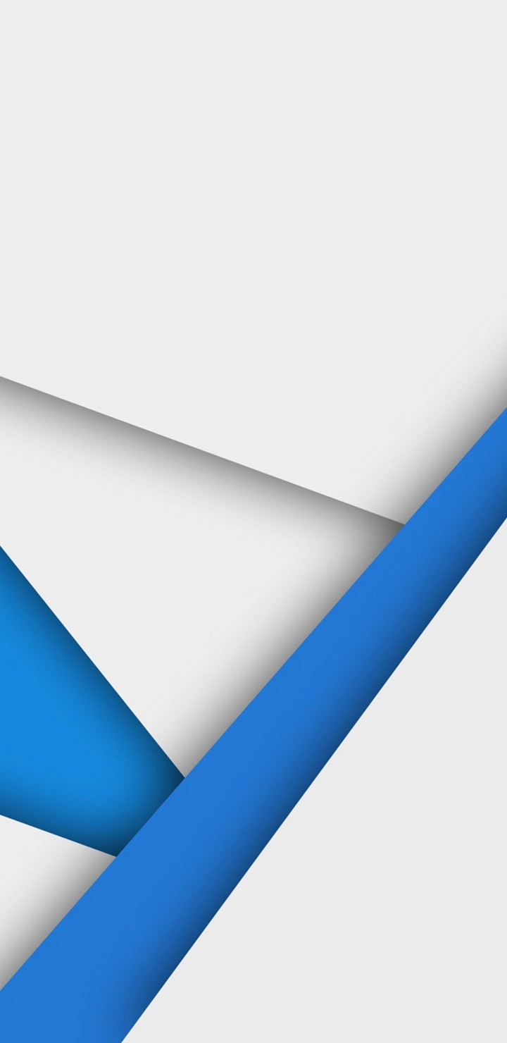 Material Design Blue And White To Wallpaper 720x1480