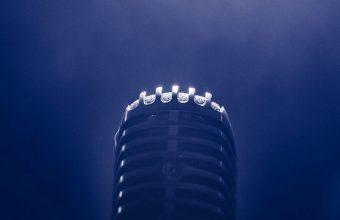 Microphone Smoke Blackout Wallpaper 720x1520 340x220