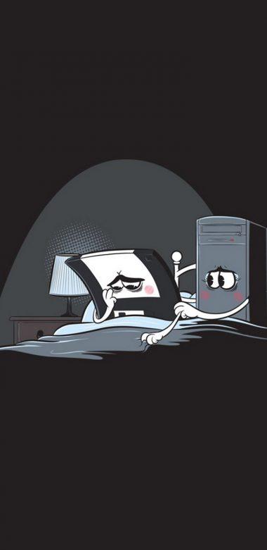 Minimalism Computer Floppy Disk Vb Wallpaper 720x1480 380x781