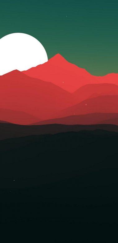 Minimalist Landscape Jt Wallpaper 720x1480 380x781