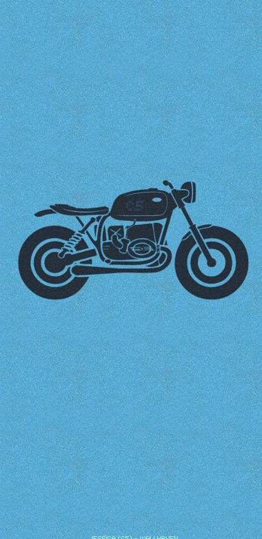 Motorcycle Minimalism Wallpaper 720x1480 380x781
