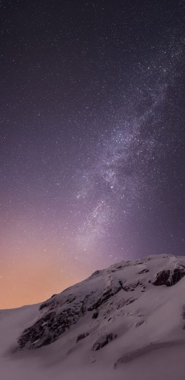 Mountains And Stars Vv Wallpaper 720x1480 380x781