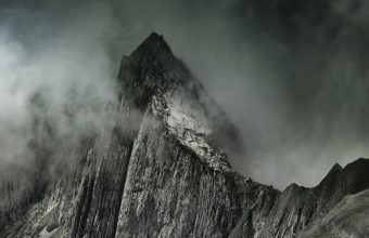 Mountains Fog Summit Wallpaper 720x1520 340x220