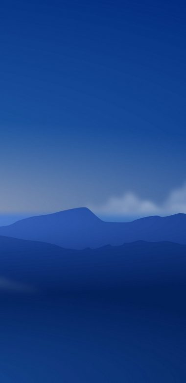 Mountains Minimalism L2 Wallpaper 720x1480 380x781