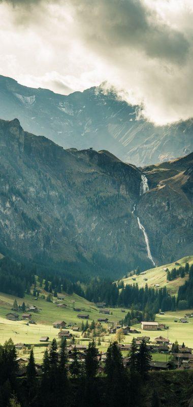 Mountains Nature Wallpaper 720x1520 380x802