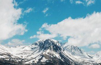 Mountains Sky Clouds Wallpaper 720x1520 340x220