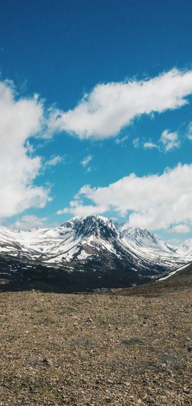 Mountains Sky Clouds Wallpaper 720x1520 380x802