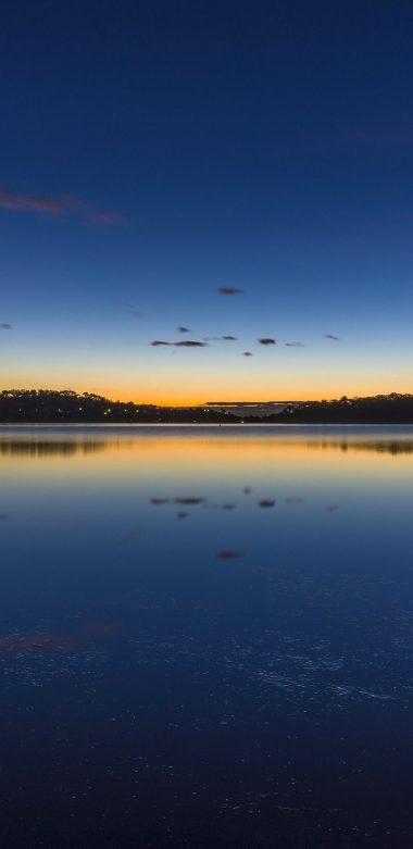 Nature Lake Sunset Landscape Ultrahd Ultra HD Wallpaper 720x1480 380x781