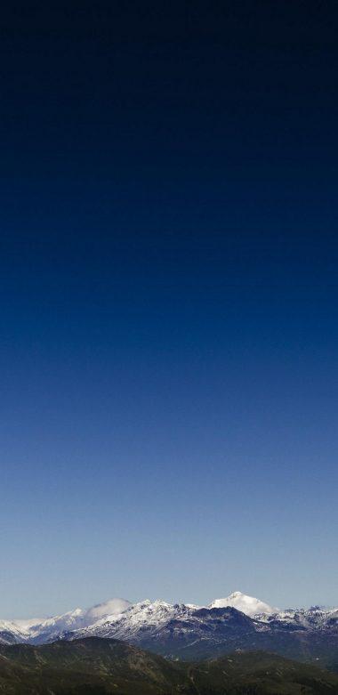 Nature Snow Sky Ad Wallpaper 720x1480 380x781