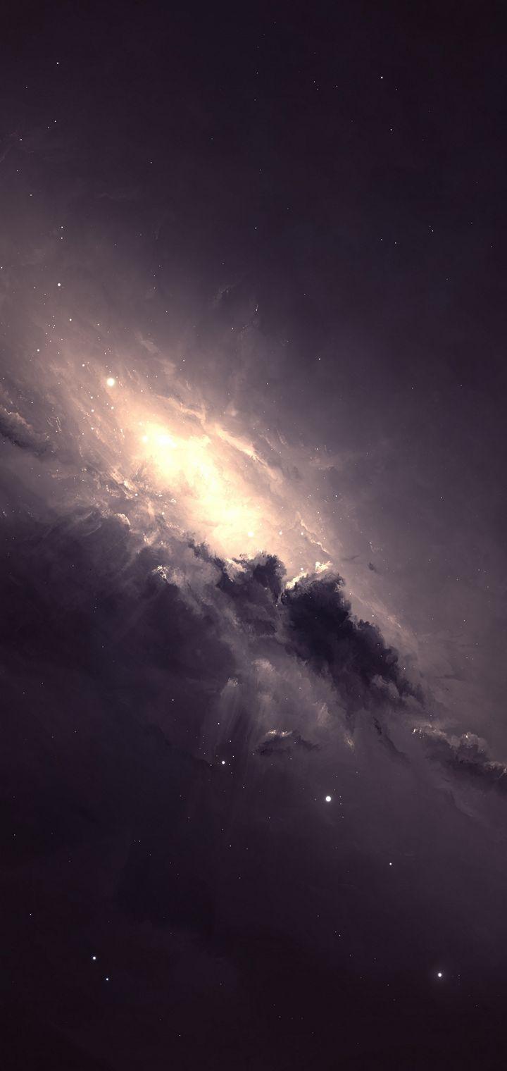 Nebulous Gem By Starkiteckt Wallpaper 720x1520