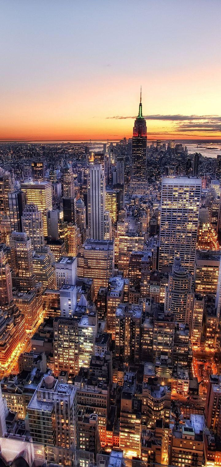 New York USA Wallpaper 720x1520