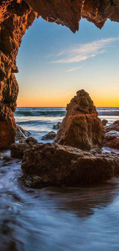 Ocean Sunrises And Sunsets USA Malibu Wallpaper 720x1520 380x802