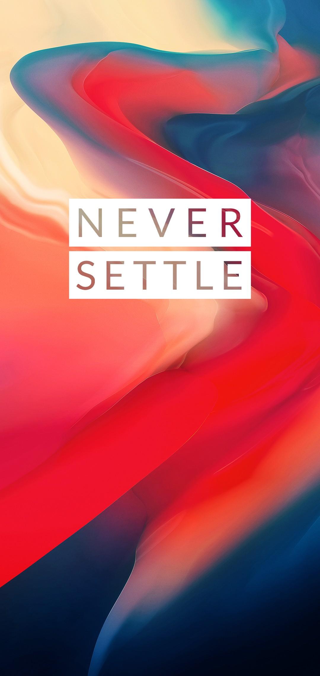 oneplus 6 never settle wallpaper 3 1080x2280
