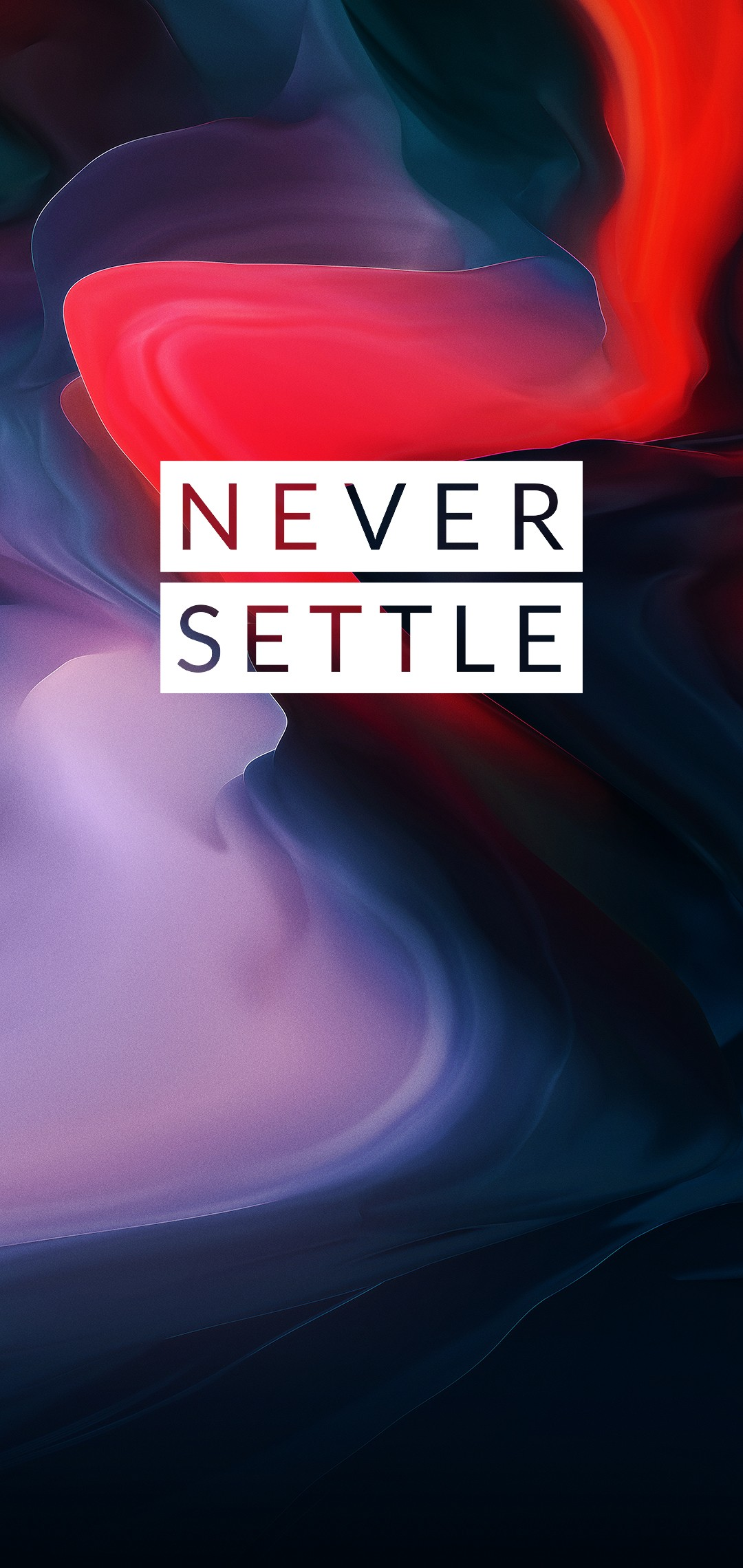 OnePlus 6 Never Settle Wallpaper 4 - [1080x2280]