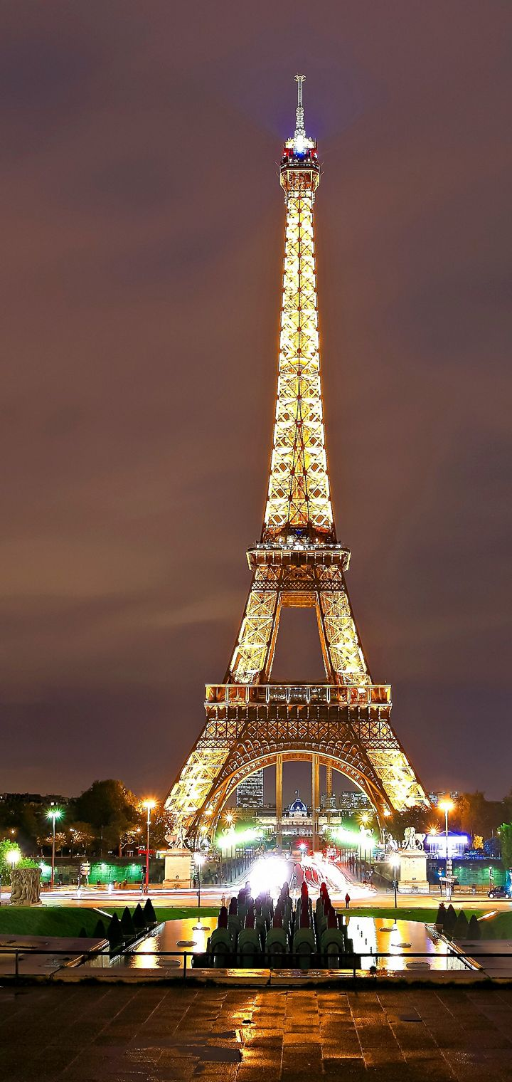 Paris Eiffel Tower Wallpaper 720x1520