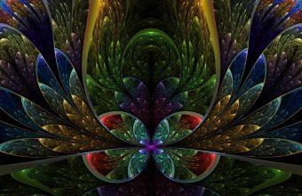 Patterns Colorful Dark Wallpaper 960x600 340x220