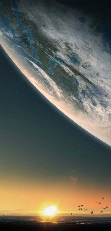 Planet Wallpaper 1080x2248 380x791