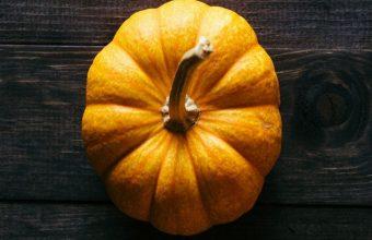 Pumpkin Floor Wooden Shadow Wallpaper 720x1520 340x220