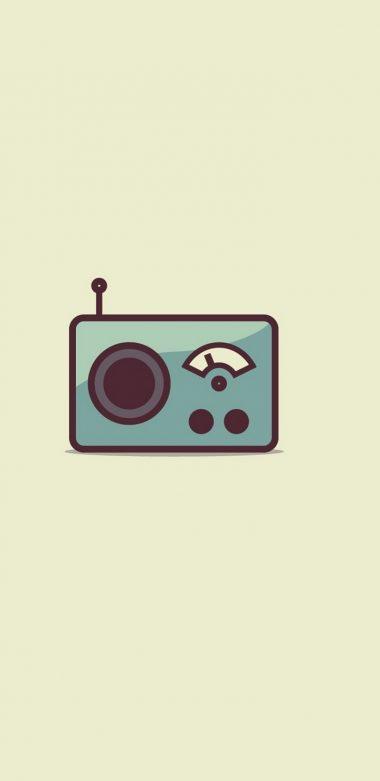 Radio Minimalism Image Wallpaper 720x1480 380x781