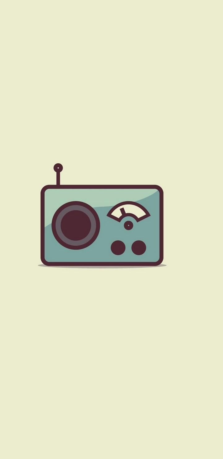 Radio Minimalism Image Wallpaper