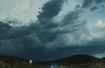 Road Clouds Auto Traffic Wallpaper 720x1520 340x220
