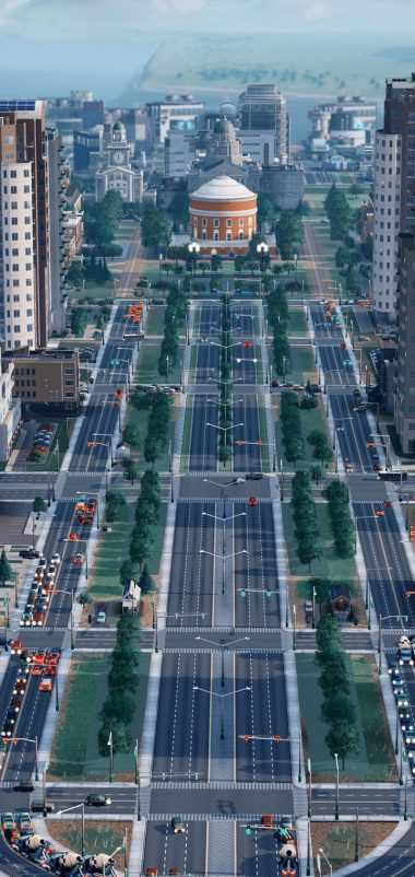 SIMCITY Construction Simulation Wallpaper 720x1520 380x802