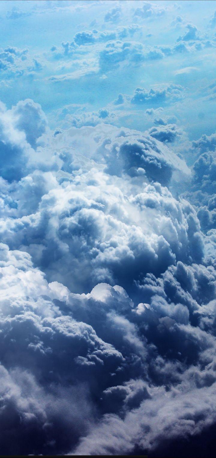 STORM Weather Rain Sky Clouds Nature Wallpaper 720x1520