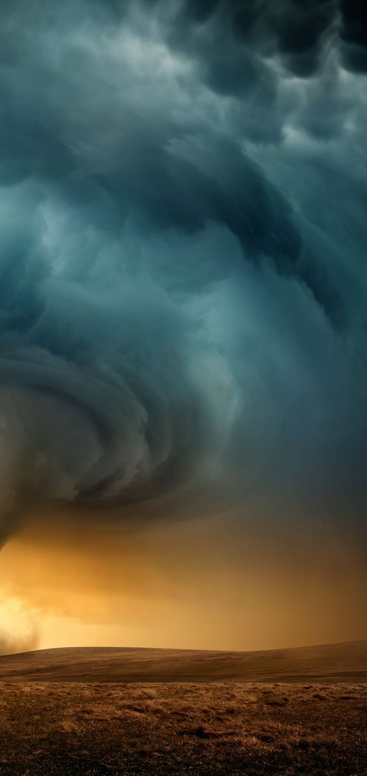 STORM Weather Rain Sky Clouds Wallpaper 720x1520