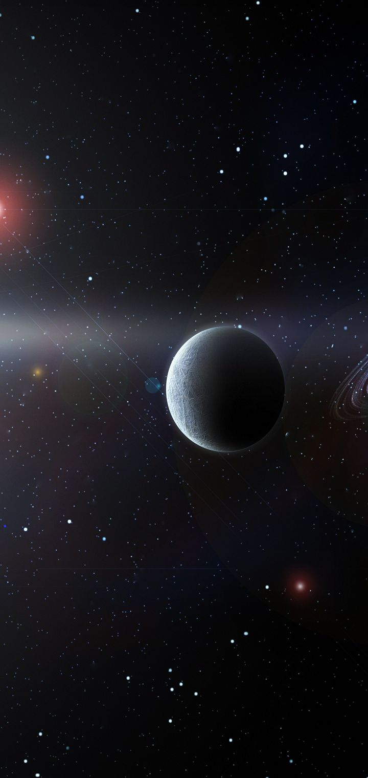 Sci Fi Science Space Fantasy Art Artwork Artistic Futuristic Wallpaper 720x1520