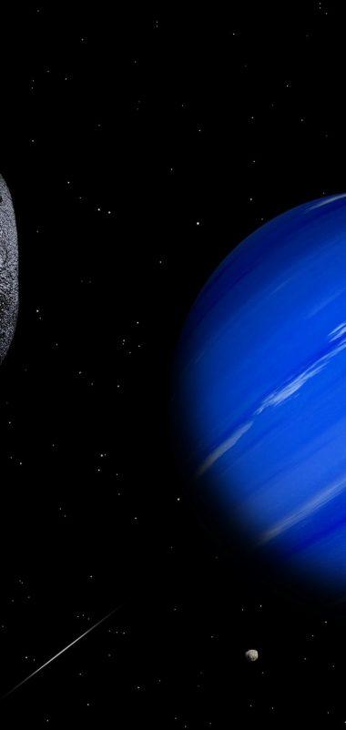 Science Space Fantasy Art Artwork Artistic Futuristic Wallpaper 720x1520 380x802