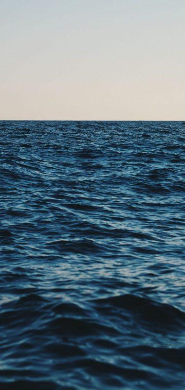 Sea Horizon Sky Wallpaper 720x1520 380x802