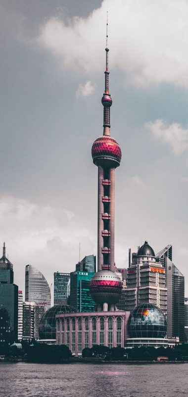 Shanghai China Skyscrapers Wallpaper 720x1520 380x802