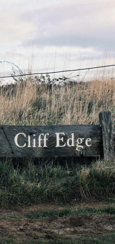 Signboard Inscription Field Grass Wallpaper 720x1520 380x802