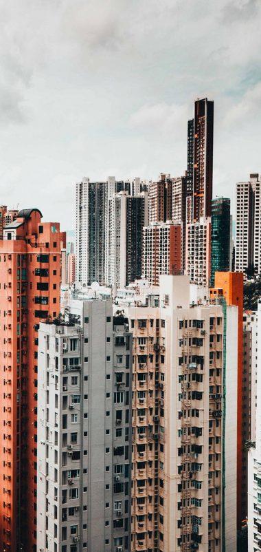 Skyscrapers Buildings Architecture Wallpaper 720x1520 380x802