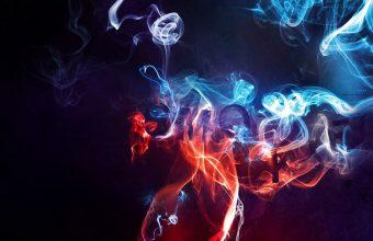 Smoke Color Background Wallpaper 960x600 340x220