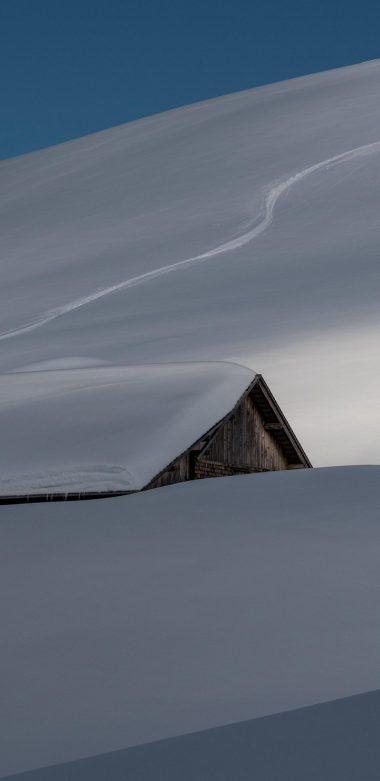 Snow Hut Hd Wallpaper 720x1480 380x781