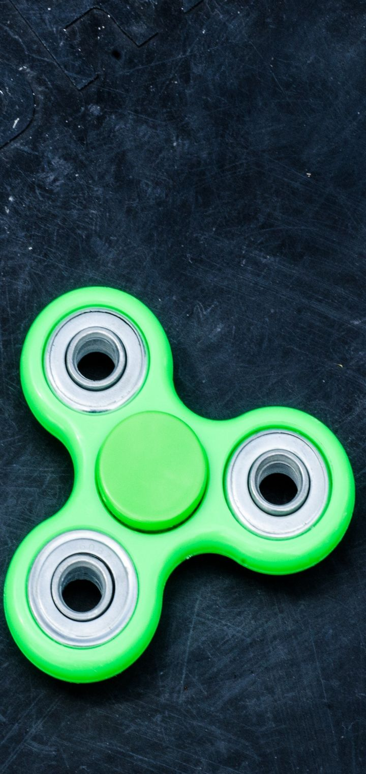 Spinner Blades Lobed Toy Wallpaper 720x1520