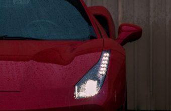Sports Car Front View Headlight Wallpaper 720x1520 340x220