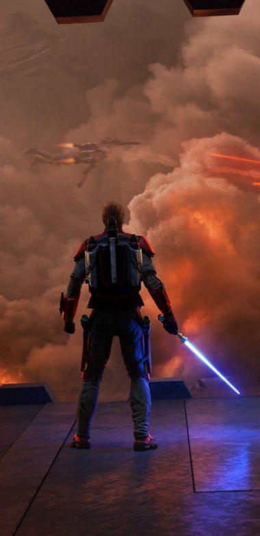 Star Wars Siege Of Mandalore Cs Wallpaper 720x1480 380x781