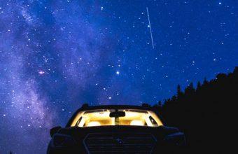 Starry Sky Night Car Wallpaper 720x1520 340x220
