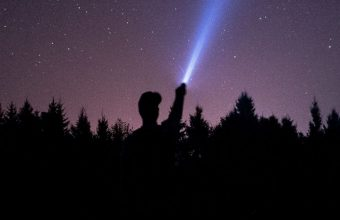 Starry Sky Stars Night Man Light Wallpaper 720x1520 340x220