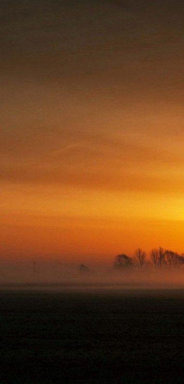 Sunset Landscape Wallpaper 1080x2248 380x791