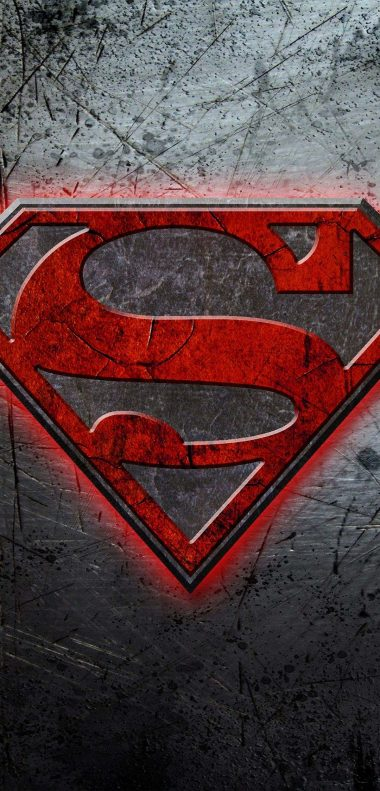 Superman Logo Wallpaper 1080x2248 380x791