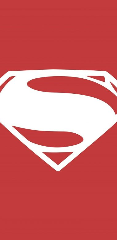 Superman Minimalism Logo On Wallpaper 720x1480 380x781