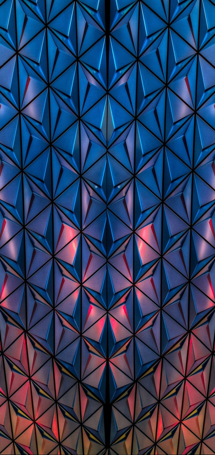 Surface Shape Light Wallpaper 720x1520