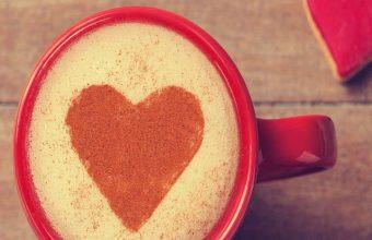 Sweet Coffee Heart Wallpaper 720x1520 340x220