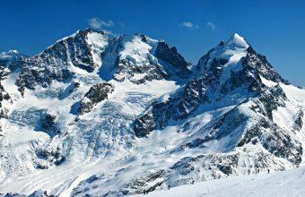 Swiss Alps Glacier Wallpaper 960x600 340x220
